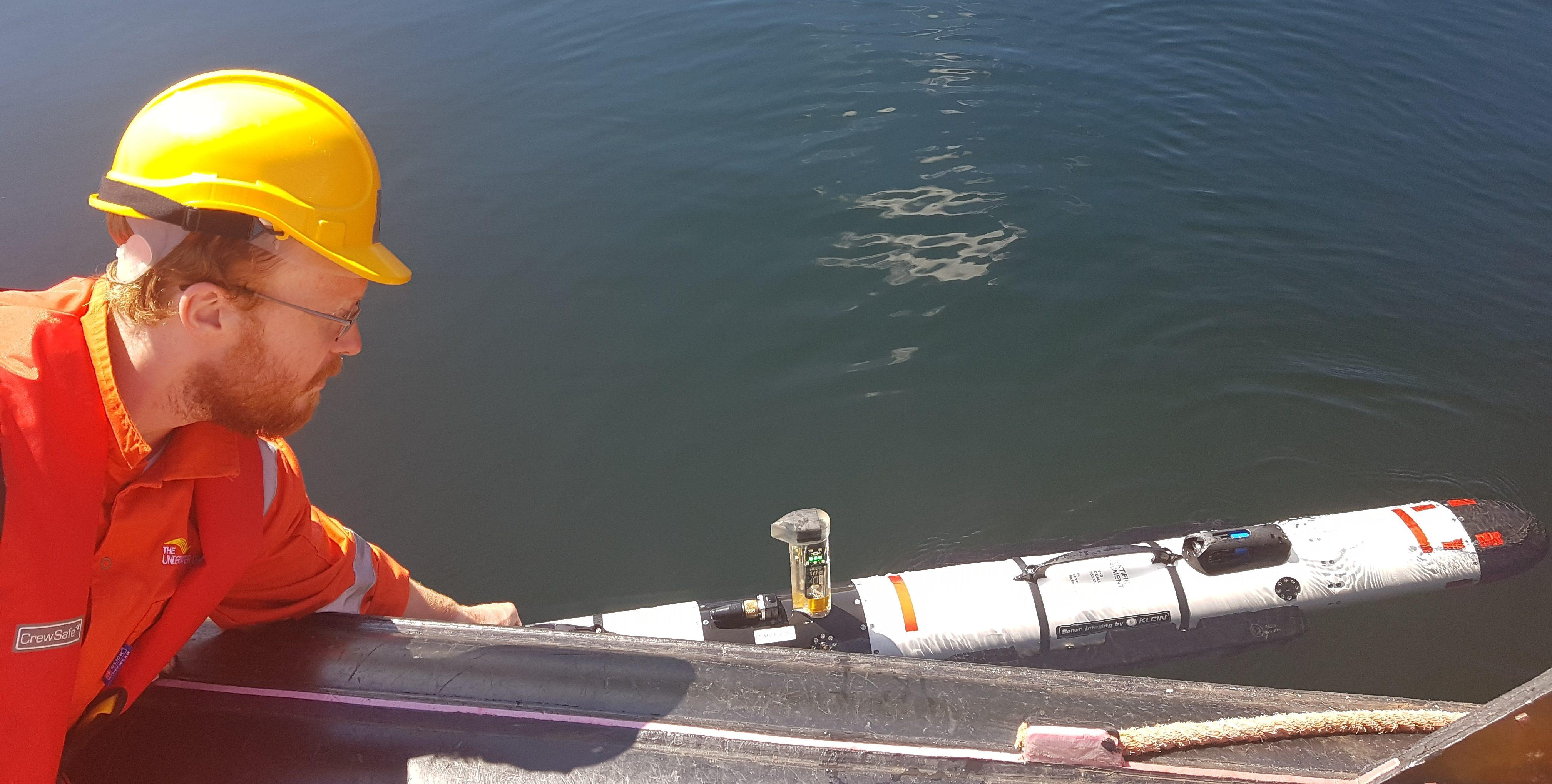 IVER3 at Loch Linnhe