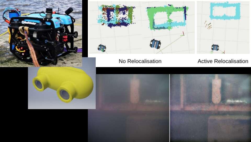 Autonomous Underwater Inspection, Navigation and Planning