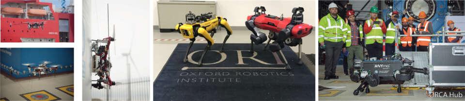 ORCA Hub robots