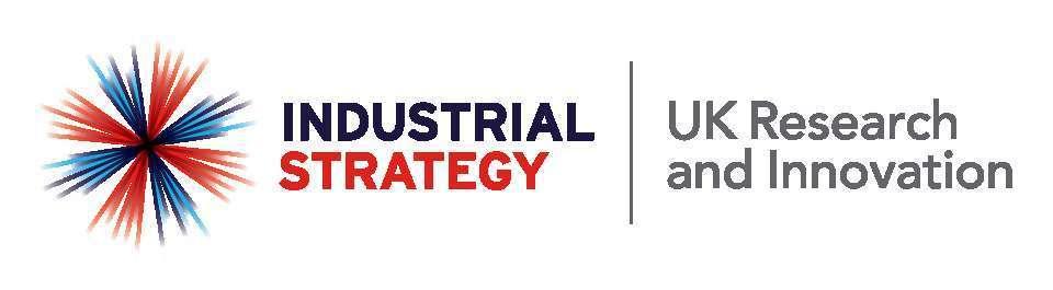 Industrial Strategy / UKRI Logo